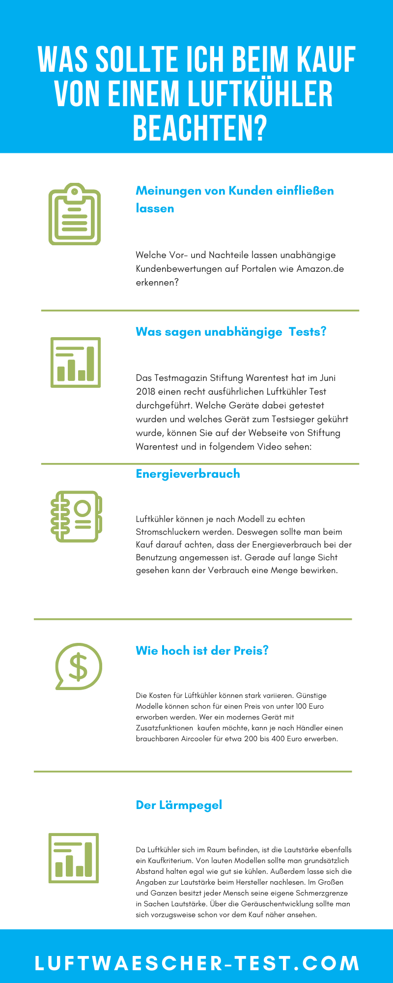 luftkuehler test infografik
