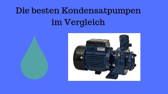 kondensatpumpe test bild